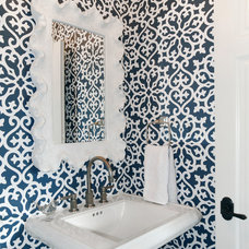 Traditional Powder Room by NARI of Central Ohio