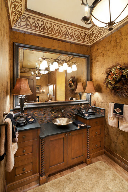 Traditional Powder Room Traditional Powder Room
