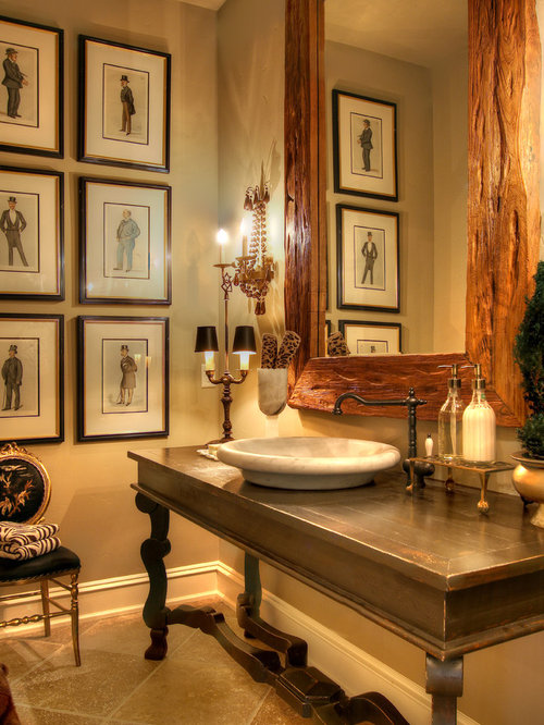 Traditional Powder Room Houzz