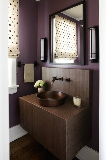 Modern Powder Room by Morgante Wilson Architects