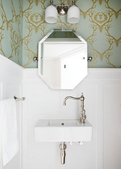 Klassisk Toalett by Templer Interiors