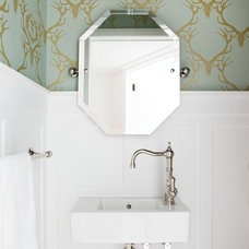 Traditional Powder Room by Templer Interiors