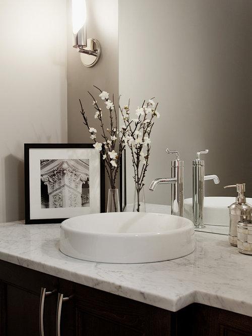 g stetoilette g ste wc mit quarzit waschtisch ideen f r. Black Bedroom Furniture Sets. Home Design Ideas