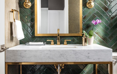 Powder Room Palettes: 10 Gorgeous Greens