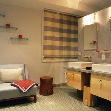 Modern Bathroom by Betty Wasserman