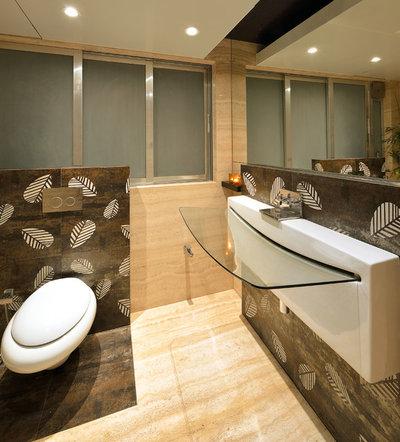 Indian Powder Room by FACILIS architecture and interior design studio