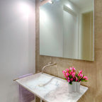 Mpd Contemporary Residence Modern Powder Room New