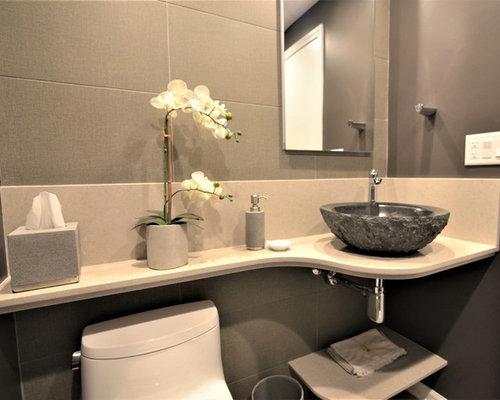 Bagno Marrone Moderno : Piastrelle bagni moderni marrone. piastrelle bagno moderno grigio