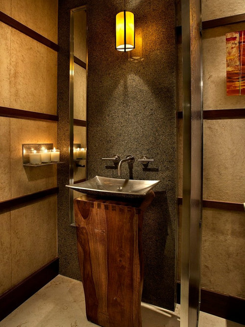 Pedestal sink with metal legs ideas pictures remodel and decor