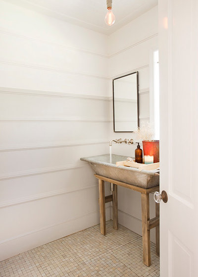 Country Powder Room by thea home inc