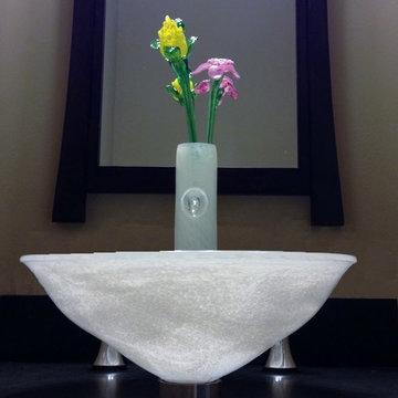 Vase Faucet close up