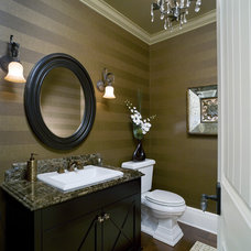 Powder Room by Concept to Design Inc.