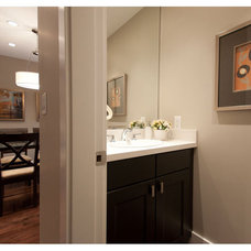 Traditional Powder Room by Space Harmony