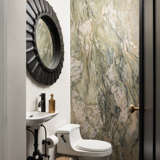 75 most popular bathroom and cloakroom with stone slabs