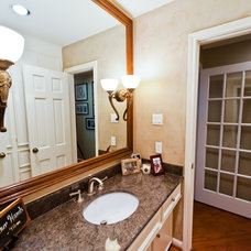 Traditional Powder Room by Bluebonnet Building & Renovation, Inc