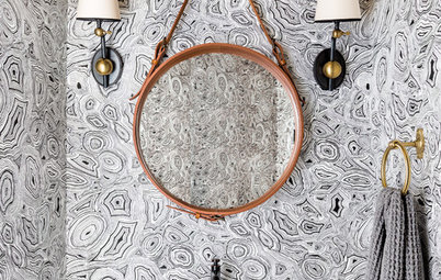 Trending Now: 15 New Powder Rooms Getting Attention