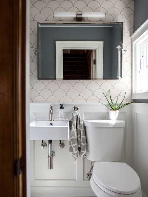 A Transitional Style Great Room By Parkyn Design Www Parkyndesign Com: 10 All-Time Favorite Transitional Powder Room With White Cabinets Ideas