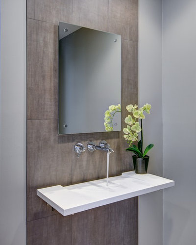 Powder Room Sink: Get Inspired By 17 Statement-Making Bathroom Sinks