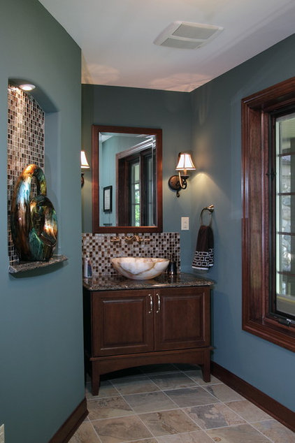 Traditional Powder Room by Urban Herriges & Sons, Inc.