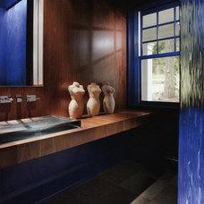 Contemporary Powder Room by SRM Architecture and Interiors