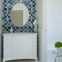 modern powder room by Lizette Marie Interior Design