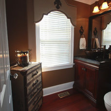 Traditional Powder Room by Jaimie Lyn Interiors