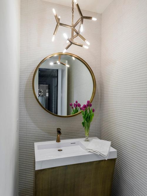 moderne g stetoilette g ste wc mit quarzwerkstein waschtisch ideen f r g stebad und g ste wc. Black Bedroom Furniture Sets. Home Design Ideas