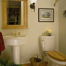 Traditional Powder Room by Witt Construction