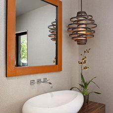 Contemporary Powder Room by Jeneration Interiors