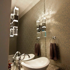 Contemporary Powder Room by Urban Abode
