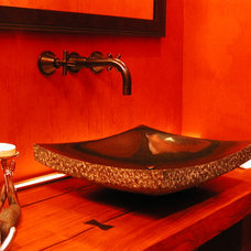 Asian Powder Room by 186 Lighting Design Group - Gregg Mackell