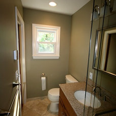 Traditional Powder Room by Zehnbauer's Kitchen, Bath & More