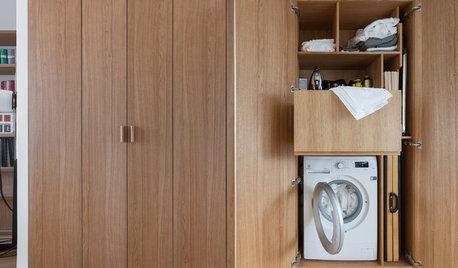 Où installer la machine à laver pour la faire disparaître ?