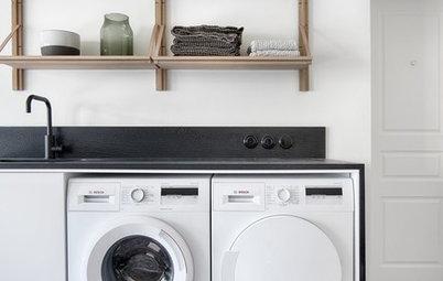 Photothèque : 50 coins buanderie mixent lave-linge et sèche-linge