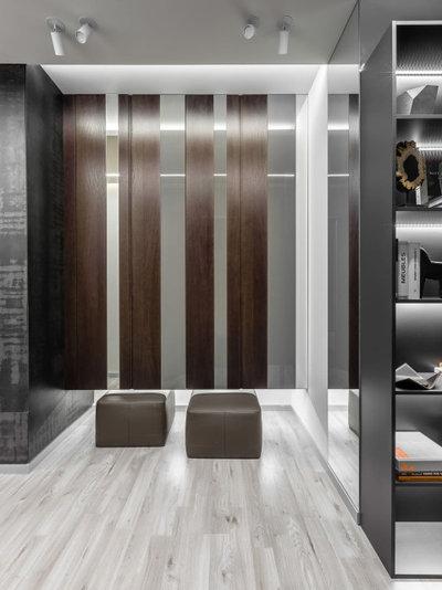 Современный Прихожая by Архитектурная студия QUADRUM