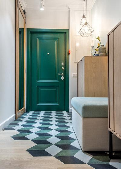 Современная классика Прихожая by Вера Шеверденок | Roomba interior
