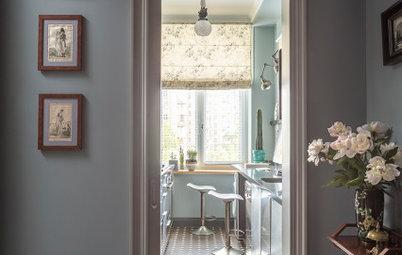 Проект недели: Кухня-кабинет для мужчины — в серых тонах