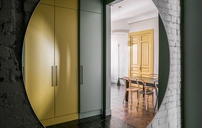 Houzz Tour: Clever Details Fill a 1913 Moscow Apartment