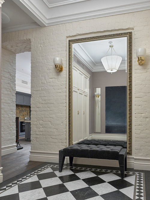 Our 50 Best Marble Floor Entryway with Beige Walls Ideas ...