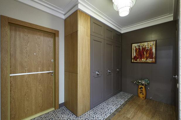 Современный Прихожая by СВОЁ / Двери / Мебель / Интерьер