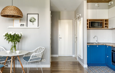 Houzz Tour: An Awkward Studio is Turned into a Comfy One-bed Flat