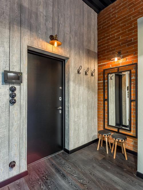 hall d 39 entr e industriel photos et id es d co de halls d 39 entr e de maison ou d 39 appartement. Black Bedroom Furniture Sets. Home Design Ideas
