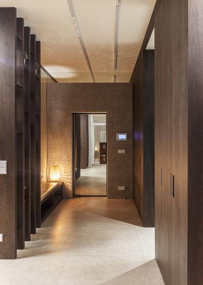 Modern Eingang by SMART4SMART