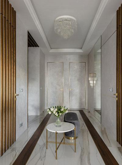 Современный Прихожая by Дизайн-студия US Interiors