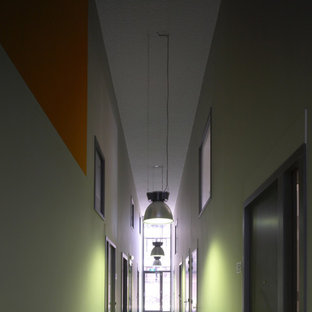 Inspiration for a small contemporary hallway remodel in Amsterdam