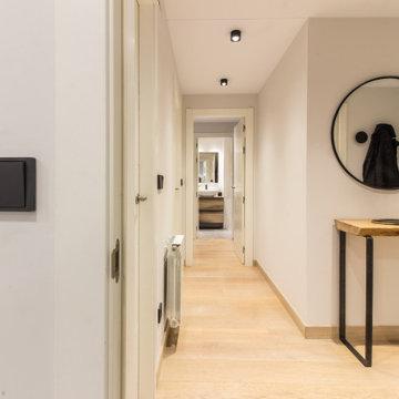 Diseño de interiores y reforma parcial de apartamento en Santander ( Cantabria)