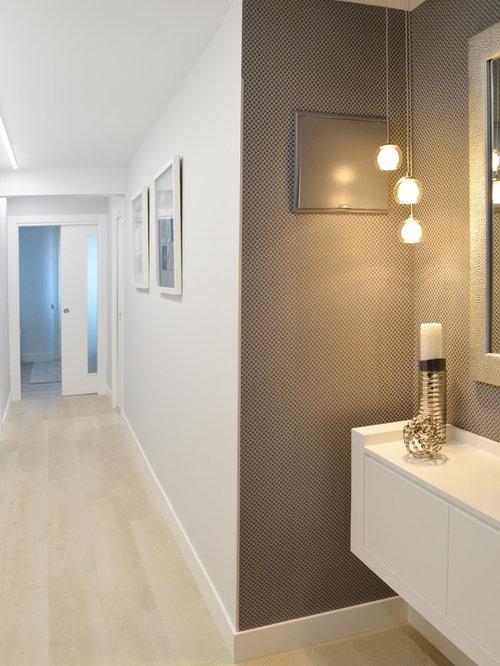 Couloir moderne Bilbao : Photos et idées déco de couloirs
