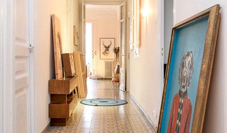 Fotos de la semana: 9 pasillos con ideas de decoración útiles
