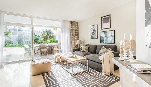 Skandinavisch Wohnzimmer by LID, Linadela Interior Design