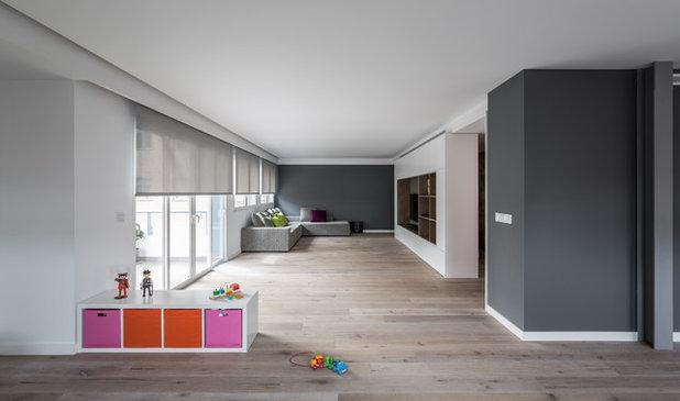 Moderno Sala de estar by Germán Cabo · Fotografía de arquitectura